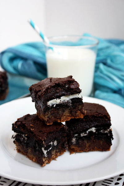 Slutty Brownies - She Makes and Bakes