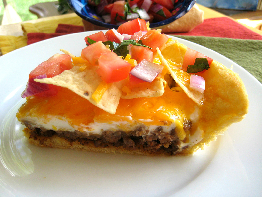 Taco Pie - She Makes and Bakes